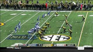 Larry Warford vs Missouri (2012)