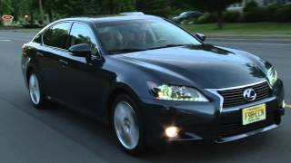 2013 Lexus GS 450h - Drive Time Review With Steve Hammes