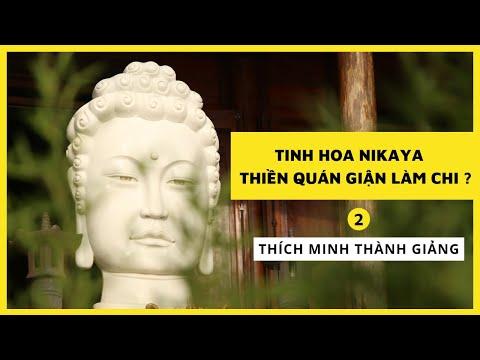 Tinh Hoa NIKAYA - Thiền Quán Giận Làm Chi ? 2