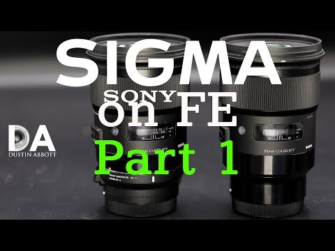 Sigma ART Series Sony FE Mount: Review Part 1 | 4K (видео)