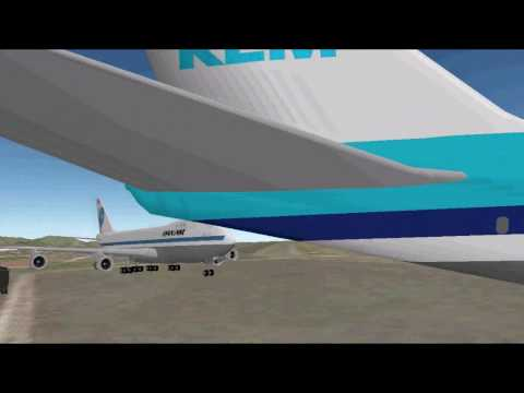 Tenerife Airport Disaster Animated Google Earth Model
