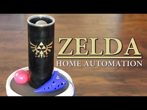 Zelda Ocarina Controlled Home Automation