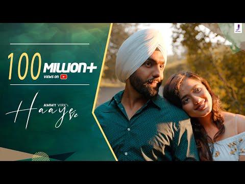 Haaye Ve (Official Video) Ammy Virk   Raj,SunnyVik,Navjit,Ketika   Latest Punjabi Songs  Jjust Music