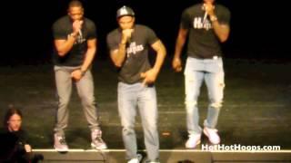 Battioke 2014 - LeBron James, Dwyane Wade, Udonis Haslem Perform Robin Thicke