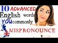 Download Lagu 10 Commonly Mispronounced English Words | Advanced English Pronunciation Mp3 Free