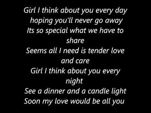 Donell Jones I Wanna Luv You Lyrics