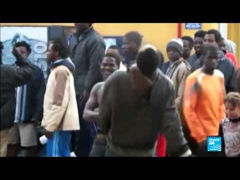 الهجرة الى أوروبا | مئة مهاجر يجتازون حدود مليلة بالقوة