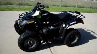 4. 2013 Arctic Cat 300 4 Wheeler
