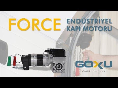 Force Endüstriyel Kapı Motoru