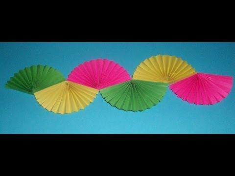 Декор комнаты из бумаги к лету 2