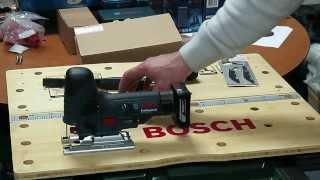 Аккумуляторный лобзик Bosch GST 10,8 V-LI. Часть 01.