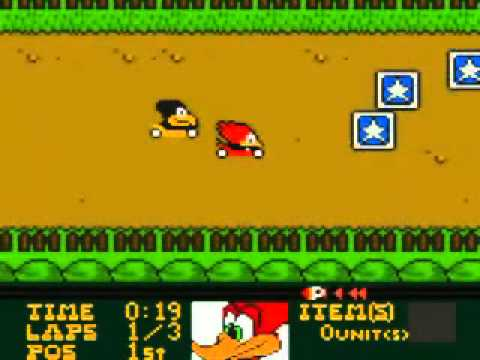 woody woodpecker game boy color