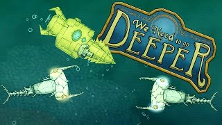 Epic New RAMMING Sub and SKELETON PIRATES! - We Need To Go Deeper Gameplay