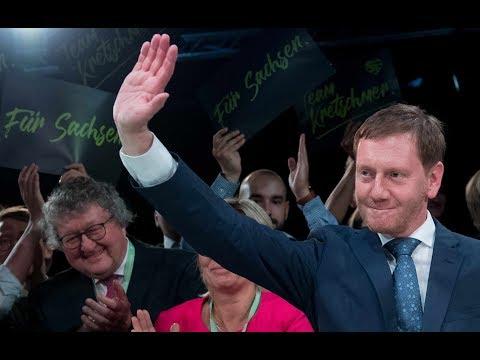 Sachsen-Wahl-Umfrage: CDU und AfD Kopf-an-Kopf – SPD einstellig