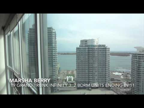 Marsha Berry Toronto Condos 19 Grand Trunk Infinity 3: 2 Bedroom Units Ending in 11