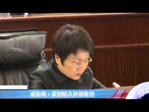 梁安琪-20131029立法會議