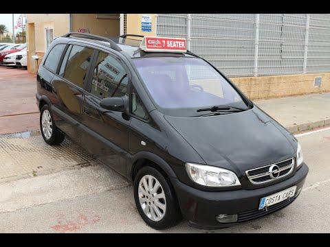 See video Opel ZAFIRA 1.8i IRMSHER
