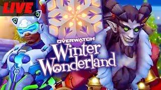 Overwatch Winter Wonderland Event Live! by GameSpot