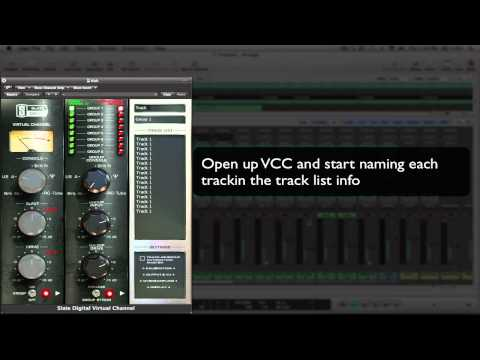 Slate Digital VCC – Grouping Tutorial – Logic