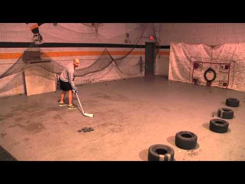 Hockey Training: Snap Shot Drill for Quick Release, Power, and Accuracy