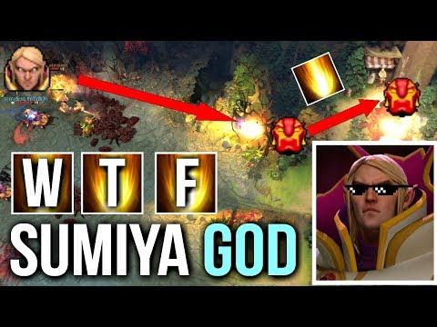 SUMIYA INVOKER GOD! WTF is This SunStrike Mind Hack Epic Combo Gameplay Dota 2