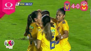 Video ¡Fiesta felina! | Tigres 4 - 0 Morelia | CL 2019 - J7 - Liga Mx Femenil | Televisa Deportes MP3, 3GP, MP4, WEBM, AVI, FLV Februari 2019