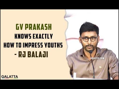 GV-Prakash-knows-exactly-how-to-impress-youths--RJ-Balaji