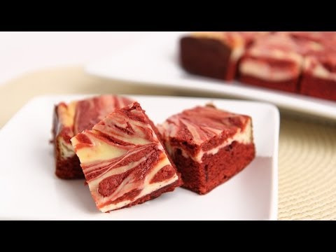 Red Velvet Cheesecake Brownies Recipe - Laura Vitale - Laura in the Kitchen Episode 731