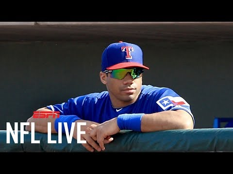 Russell Wilson to attend spring training with the New York Yankees | NFL Live | ESPN