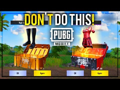 Crate Opening Is Waste Of Money In PUBG Mobile | Future Gaming