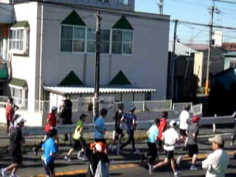 多摩川マラソン(等々力)