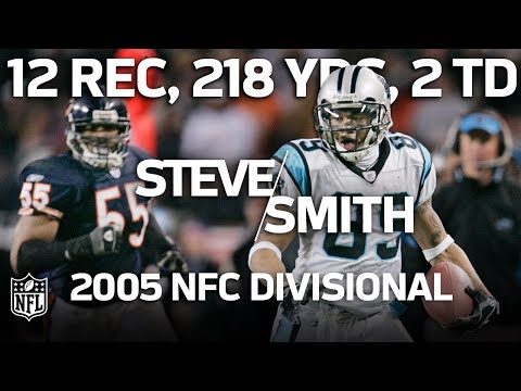 Video: Steve Smith Torches Bears in the '05 NFC Divisional with Career-High 218 Yards | NFL Highlights