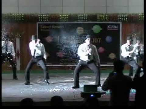 ICFAI National College, Hyderabad (2005-2007)_ANIL'S Dance Performance in Confluence.