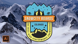 Illustrator Tutorial - Snowboard Badge Logo (Illustrator Logo Tutorial) Thanks for watching! SUBSCRIBE for more design videos! In this Adobe Illustrator tuto...