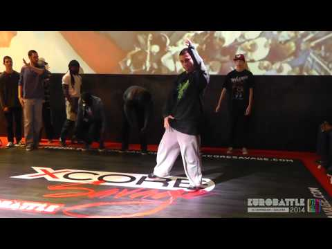FSTV l Eurobattle 2014 l UK Qualifiers l Popping l Preselection