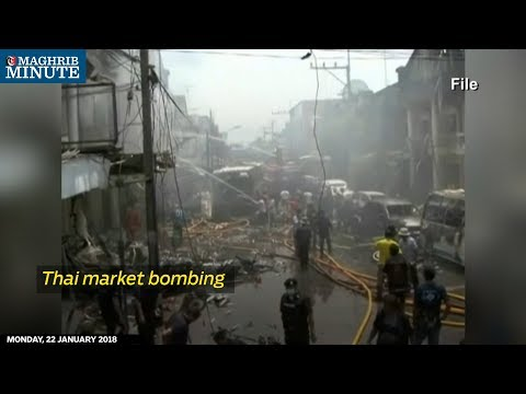 Thai market bombing