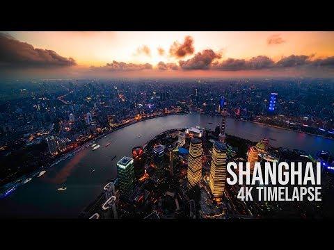Shanghai 4k Timelapse 2018