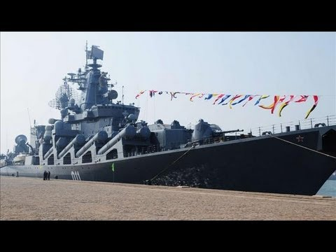 Russia - Russia expands its naval presence near a key base in Syria in a build-up that U.S. and European officials say appears aimed at deterring intervention in the ...