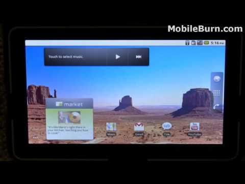 ViewSonic ViewPad 7 Android tablet – part 1 of 2