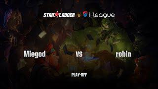 Robin (蓝圣者) vs MieGod (乱世灭神), game 1