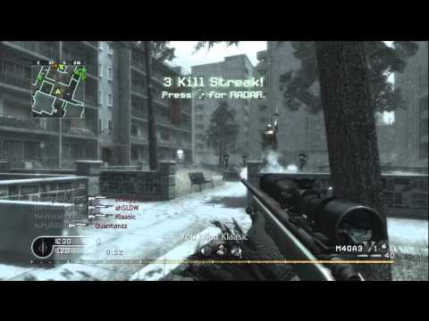 zeazyy - http://twitter.com/#!/BenHasAKeyblade Joined a game of CoD4 and noticed that zEazyy and Quantumzz were in it. We stayed in the lobby for a little while until...