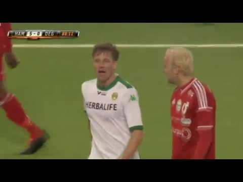 strange - Norwegian footballer shown the yellow card.