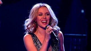 Kylie and her Team perform 'Into The Blue' - The Voice UK 2014: The Live Semi Finals - BBC One