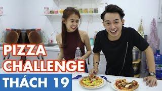 THÁCH 19 | PIZZA CHALLENGE (Phở & Ngọc Thảo), phở đặc biệt, yeah1 tv, pho dac biet yeah1