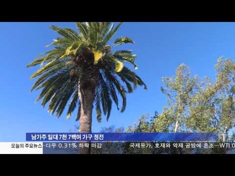 서부지역 강풍피해 속출 3.31.17 KBS America News