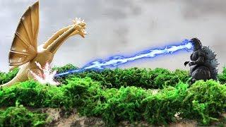Nonton Godzilla Vs  King Ghidorah Fight Reenactment  Hd  Film Subtitle Indonesia Streaming Movie Download