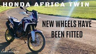 7. 2017 HONDA AFRICA TWIN, TALKING ABOUT - New wheels, bike show, new enduro bike & other random stuff