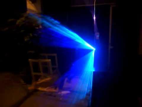 Đèn Laser 7 Màu 1w RGB.mới nhất thị trường hiện nay