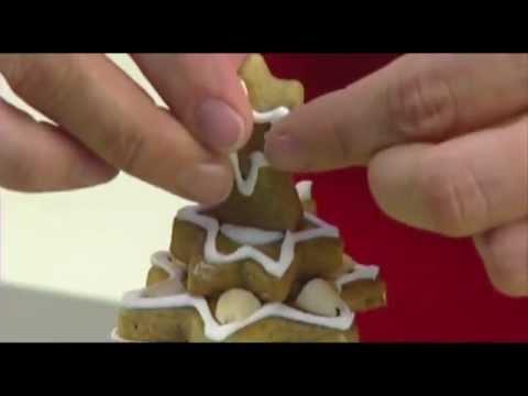 Видео Формочки для печенья из металла Tescoma Рождественская елка, набор для выпечки пряников DELICIA, Tescoma 631416