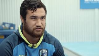 Peta Hiku may have only landed in Warrington yesterday but he has hit the ground running in training this morning over at Padgate.We caught up with him after his first session!